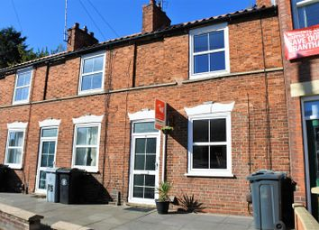 Thumbnail 2 bed terraced house for sale in Manthorpe Road, Grantham