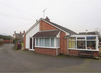Thumbnail 3 bed detached bungalow for sale in Long Lane, Craven Arms