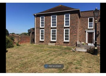Thumbnail 3 bed flat to rent in Westgate, Chichester