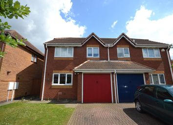 Thumbnail 3 bed semi-detached house to rent in Kentford Close, Northampton