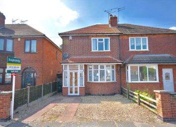 Thumbnail 2 bedroom semi-detached house for sale in Alton Road, Aylestone, Leicester