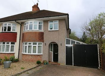 Thumbnail 3 bedroom semi-detached house for sale in Gaywood Road, Ashtead, Surrey