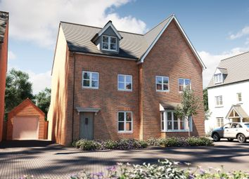 "Thumbnail 3 bed semi-detached house for sale in ""The Acton"" at Deardon Way, Shinfield, Reading"