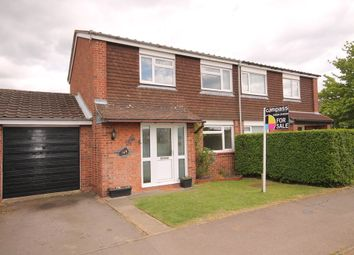 Thumbnail 3 bed semi-detached house for sale in Needwood Road, Bedford