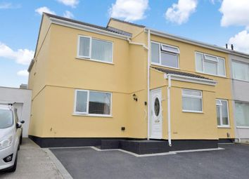 Thumbnail 5 bed semi-detached house for sale in Feversham Close, Plymouth, Devon