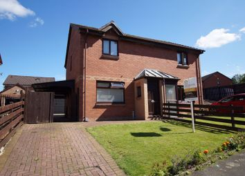 Thumbnail 3 bed semi-detached house for sale in Letham Oval, Bishopbriggs, Glasgow