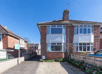 Thumbnail 3 bed semi-detached house to rent in Delbush Avenue, Headington, Oxford