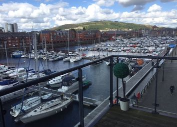 Thumbnail 2 bed flat to rent in Meridian Wharf, Trawler Road, Swansea
