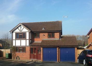 Thumbnail 4 bed detached house for sale in Harlech Way, Kidderminster