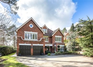 Thumbnail 5 bed detached house for sale in Tattingstone Close, Lower Bourne, Farnham, Surrey