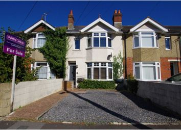 Thumbnail 2 bed terraced house for sale in Downs Park Road, Totton