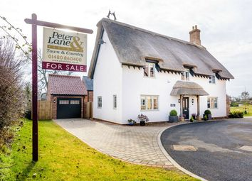 Thumbnail 3 bedroom detached house for sale in The Green, Brington, Huntingdon