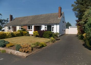 Thumbnail 3 bed semi-detached bungalow for sale in Croft Park, Wetheral, Carlisle