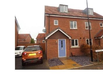 Thumbnail 3 bed semi-detached house for sale in Kingfisher Close, Coventry, West Midlands
