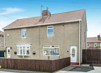 Thumbnail 3 bed semi-detached house for sale in Park Avenue, Shiremoor, Newcastle Upon Tyne