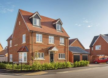 "Thumbnail 5 bed detached house for sale in ""The Oatvale"" at Littleworth Road, Benson, Wallingford"