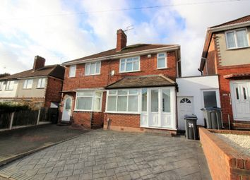 Thumbnail 3 bed semi-detached house to rent in Stowell Road, Kingstanding, Birmingham