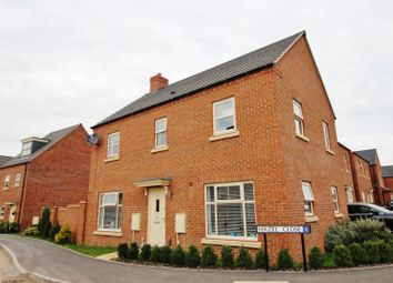 Thumbnail 4 bed detached house for sale in Hazel Close, Burton-On-Trent, Staffordshire