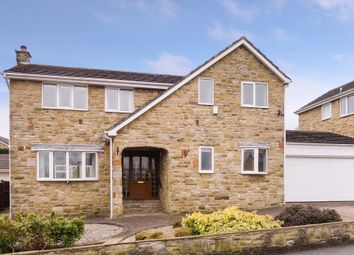 Thumbnail 4 bed detached house for sale in Whinmoor Drive, Silkstone, Barnsley