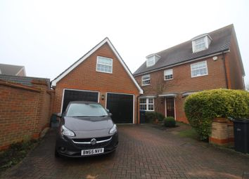 Thumbnail 5 bed detached house for sale in Malkin Drive, Church Langley, Harlow