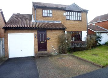 Thumbnail 4 bed detached house for sale in Hatfield Drive, Seghill, Northumberland