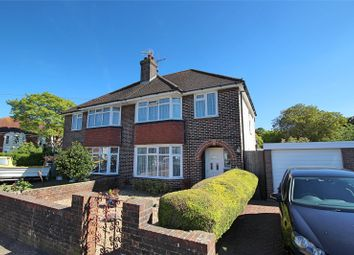 Thumbnail 3 bed semi-detached house for sale in Broadwater Way, Worthing, West Sussex