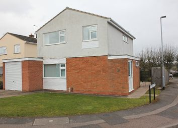 Thumbnail 3 bed detached house for sale in Laverstock Road, Wigston, Leicester