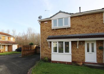 Thumbnail 2 bed semi-detached house to rent in Harlech Way, Stretton, Burton-On-Trent