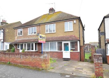 Thumbnail 3 bed semi-detached house for sale in Kent Road, Margate, Kent