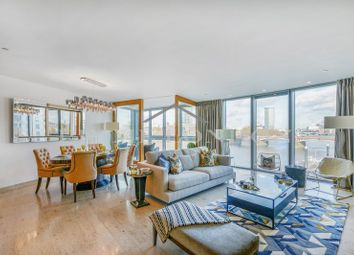 Thumbnail 3 bed flat to rent in The Tower, One St George Wharf, London