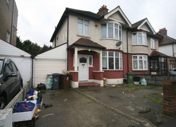 Thumbnail 3 bed semi-detached house to rent in Whalebone Lane North, Romford