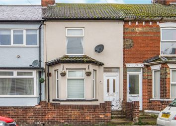 Thumbnail 3 bed terraced house for sale in Wollaston Road, Lowestoft