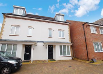 Thumbnail 4 bed town house to rent in Eddleston Road, The Sidings, Swindon