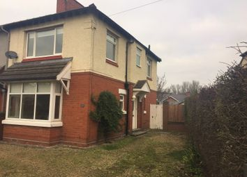 Thumbnail 3 bed semi-detached house to rent in 25 Davenham Crescent, Crewe, Cheshire