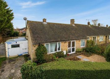 Thumbnail 2 bed terraced bungalow for sale in Chestnut Close, Haslingfield, Cambridge