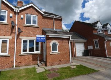 Thumbnail 2 bed semi-detached house for sale in Talbot Court, Auckland Park, Bishop Auckland
