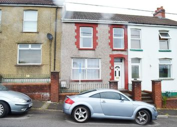Thumbnail 3 bed terraced house for sale in Cross Street, Gilfach, Bargoed, Caerphilly