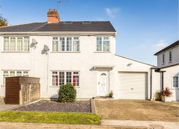 Thumbnail 4 bed semi-detached house for sale in Staveley Gardens, London