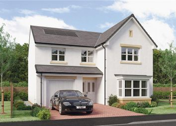 "Thumbnail 4 bed detached house for sale in ""Mackie"" at Burdiehouse Road, Edinburgh"