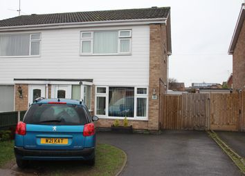 Thumbnail 3 bed semi-detached house for sale in Lochmore Drive, Hinckley