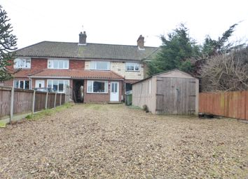 Thumbnail 3 bed terraced house for sale in Dereham Road, New Costessey, Norwich