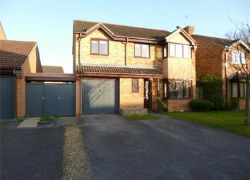 Thumbnail 4 bed detached house for sale in Medland Grove, Eynesbury, St. Neots