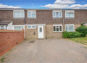 Thumbnail 3 bed terraced house for sale in Hamsterley Close, Bedford
