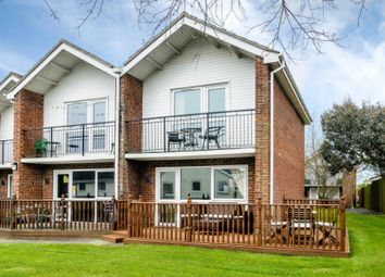 Thumbnail 3 bedroom end terrace house for sale in Waterside Park, The Street, Corton, Lowestoft, Suffolk