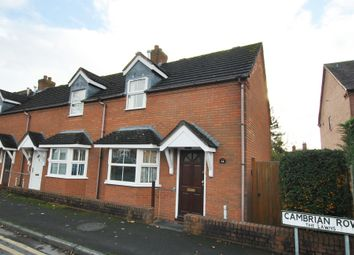 Thumbnail 2 bed end terrace house for sale in Cambrian Row, The Lawns, Wellington, Telford, Shropshire