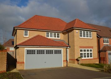 Thumbnail 4 bed detached house for sale in Cransley Street, Broughton, Kettering