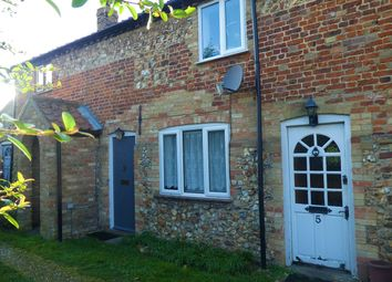 Thumbnail 2 bed terraced house to rent in Church Road, Wereham, Kings Lynn