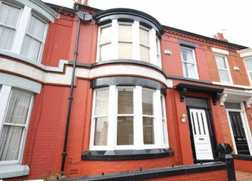 Thumbnail 4 bedroom terraced house for sale in Wyndcote Road, Mossley Hill, Liverpool