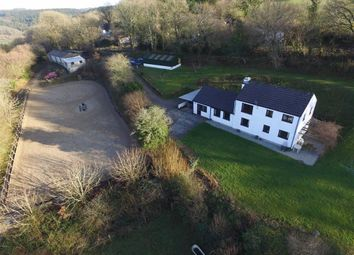 Thumbnail 4 bed equestrian property for sale in Latchley, Gunnislake