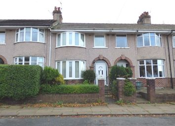 Thumbnail 3 bed terraced house for sale in Wellington Road, Bowerham, Lancaster